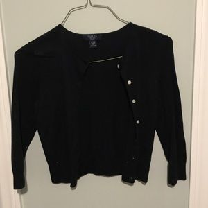 Navy blue cardigan from Chaps